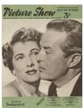 Joan Fontaine on the cover of Picture Show (United Kingdom) - February 1952