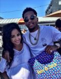 DeSean Jackson and Kayla Phillips