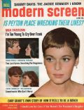 Barbara Parkins, Mia Farrow on the cover of Modern Screen (United States) - June 1966