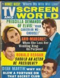 Elvis Presley on the cover of TV and Screen World (United States) - October 1967