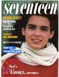 Angie Harmon on the cover of Seventeen (United States) - October 1987