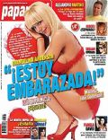 Evangelina Anderson on the cover of Paparazzi (Argentina) - October 2008
