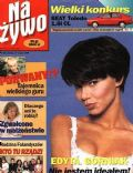 Edyta Górniak on the cover of Na Ywo (Poland) - May 1995