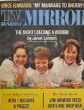 Janet Lennon on the cover of TV Radio Mirror (United States) - November 1962
