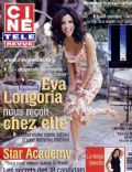 Eva Longoria on the cover of Cine Tele Revue (Belgium) - September 2006
