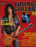 Slash on the cover of Young Guitar (Japan) - February 2003