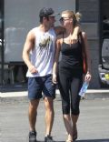 Emily VanCamp and Joshua Bowman