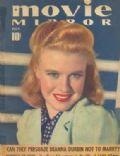 Ginger Rogers on the cover of Movie Mirror (United States) - July 1939