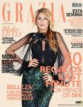 Blake Lively on the cover of Grazia (Spain) - December 2013