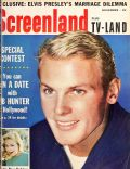 Tab Hunter on the cover of Screenland (United States) - November 1959