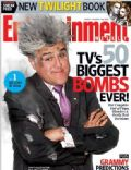 Jay Leno on the cover of Entertainment Weekly (United States) - January 2010