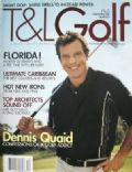 Dennis Quaid on the cover of T L Golf (United States) - November 2003