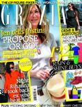 Jennifer Aniston on the cover of Grazia (United Kingdom) - June 2012