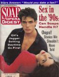 Antonio Sabato Jr., Vanessa Marcil on the cover of Soap Opera Digest (United States) - November 1992