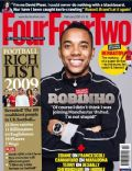 Robinho on the cover of Four Four Two (United Kingdom) - February 2009