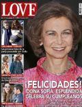 LOVE Magazine [Spain] (9 November 2011)