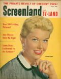 Doris Day on the cover of Screenland (United States) - July 1955