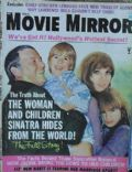 Frank Sinatra on the cover of Movie Mirror (United States) - October 1970
