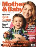 Özge Özberk on the cover of Mother and Baby (Turkey) - December 2011