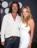 Christine Marcello and Lorenzo Lamas
