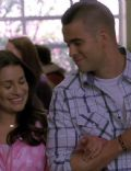 Lea Michele and Mark Salling