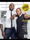 Dr. Dre, LeBron James on the cover of Espn The Magazine (United States) - February 2013