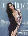 Jaslene Gonzalez on the cover of Ocean Drive (Puerto Rico) - October 2011