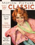 Clara Bow on the cover of Motion Picture Classic (United States) - April 1931