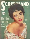 Elizabeth Taylor on the cover of Screenland (United States) - May 1952