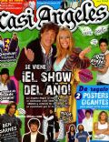 Emilia Attías, Nicolas Vazquez on the cover of Casi Angeles (Argentina) - June 2008