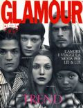 Daniel De La Falaise, Kristen McMenamy, Nadja Auermann, Naomi Campbell on the cover of Glamour (Italy) - July 1993