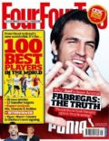 on the cover of Four Four Two (United Kingdom) - January 2012