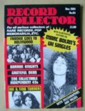 Marc Bolan on the cover of Record Collector (United Kingdom) - December 1984