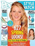 Blake Lively on the cover of People Style Watch (United States) - March 2013