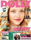 Amanda Seyfried on the cover of Dolly (Australia) - June 2011