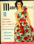 on the cover of Manequim (Brazil) - February 1961