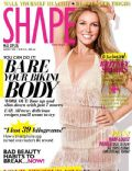 Britney Spears on the cover of Shape (Malaysia) - August 2013