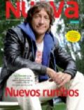 Nicolas Vazquez on the cover of Nueva (Argentina) - May 2012