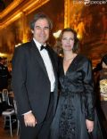 Carole Bouquet and Claudio Costamagna