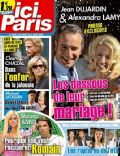 Alexandra Lamy, Jean Dujardin on the cover of Ici Paris (France) - September 2010