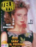 Telesette Magazine [Italy] (12 February 1986)