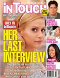 Brittany Murphy on the cover of Intouch Weekly (United States) - January 2010