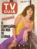Leonor Benedetto on the cover of TV Guia (Argentina) - April 1980