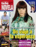 Andrea Noli, Cielo Rojo on the cover of Tele Novela (Spain) - May 2012
