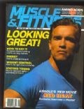 Arnold Schwarzenegger on the cover of Muscle Fitness (United States) - August 1988