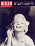 Marilyn Monroe on the cover of Billed Bladet (Denmark) - February 1957