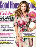Drew Barrymore on the cover of Good Housekeeping (South Africa) - July 2014