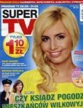 Agnieszka Popielewicz on the cover of Super TV (Poland) - May 2012