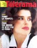 Fanny Ardant on the cover of Telerama (France) - January 1985