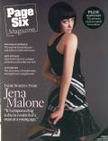 Jena Malone on the cover of Page Six (United States) - June 2008